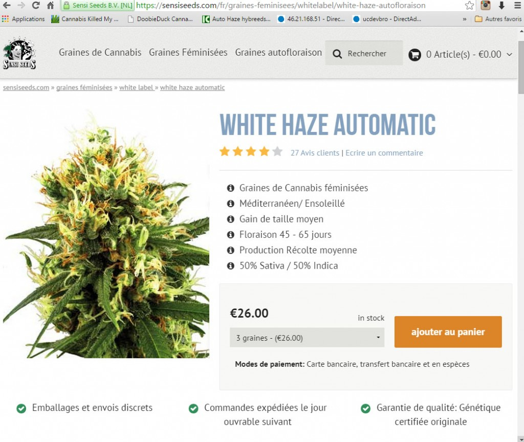 commander white haze autoflo